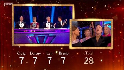 Week 2 Tango Scores