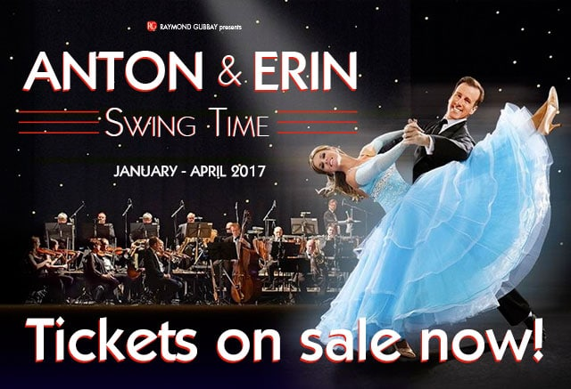 Anton & Erin Swing Time 2017 Tour