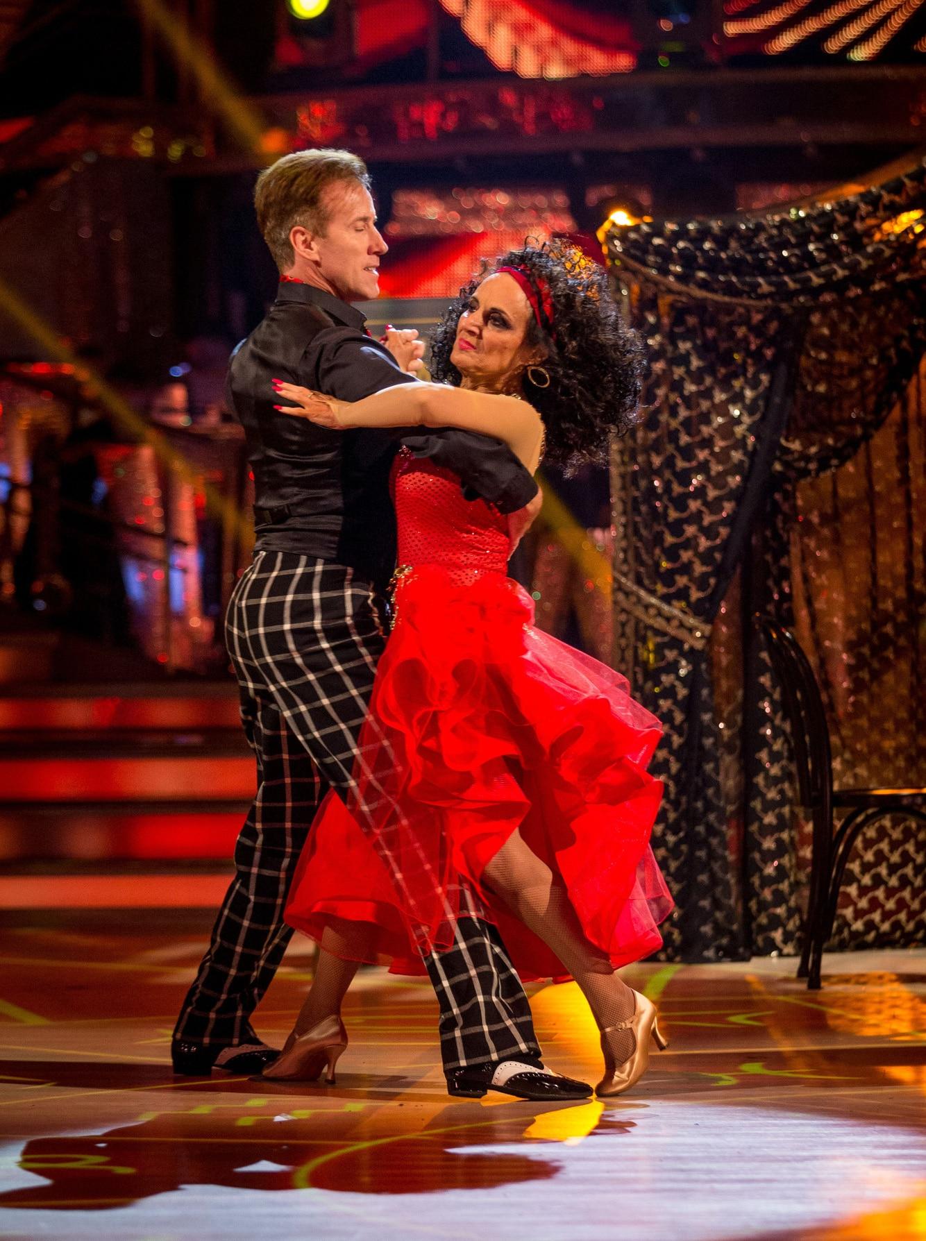 Anton Du Beke & Lesley Joseph dance the Tango