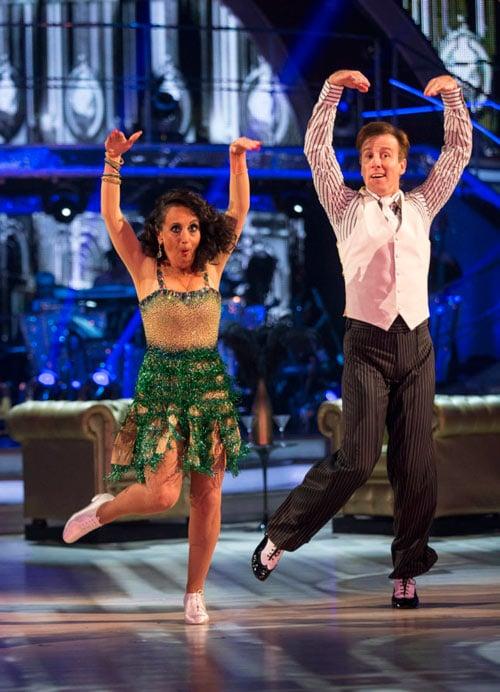 Anton Du Beke & Lesley Joseph dance the Charleston