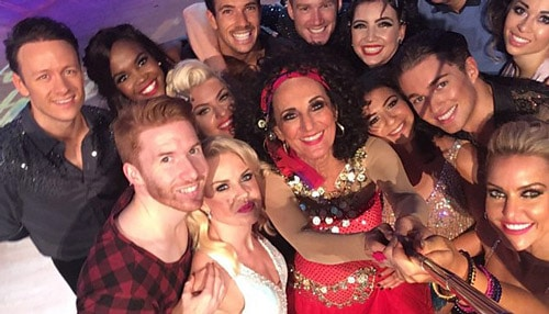 Lesley Joseph does Strictly 2016